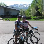 Training Ride in Steamboat
