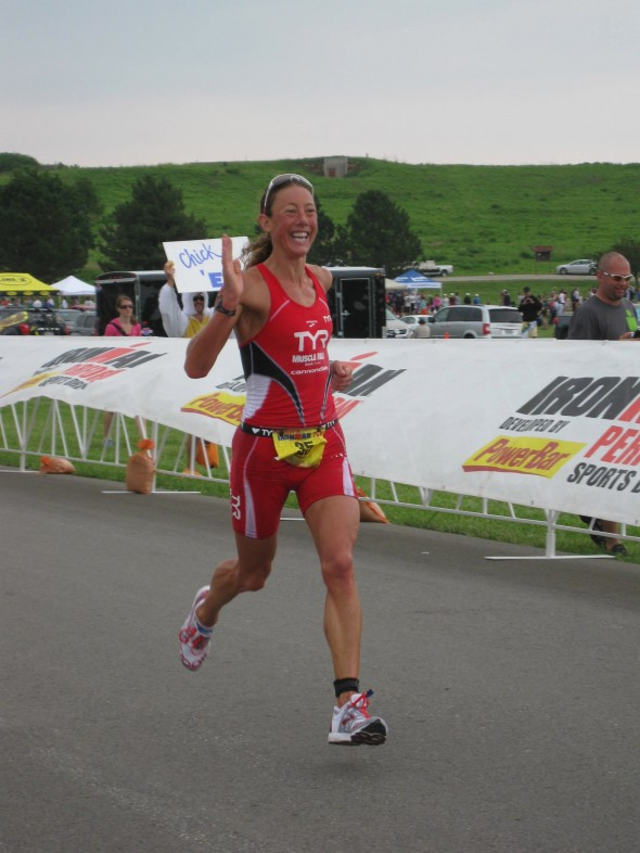 Chrissie Wellington, First Place woman pro
