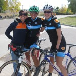 Jess and Susan, Cyclocross chicks