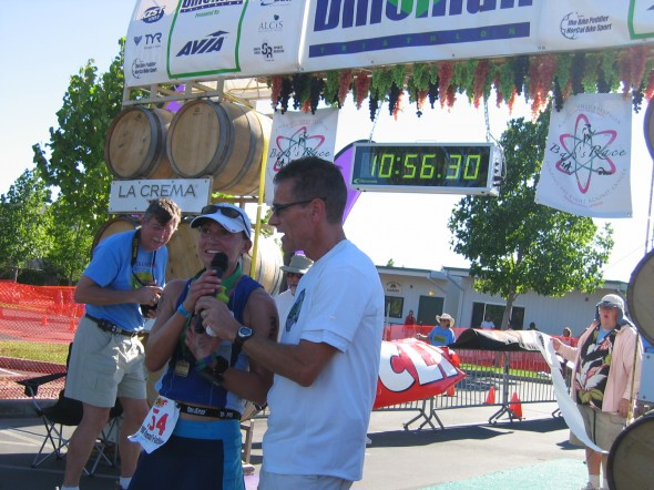 Vineman 2008 - First time win