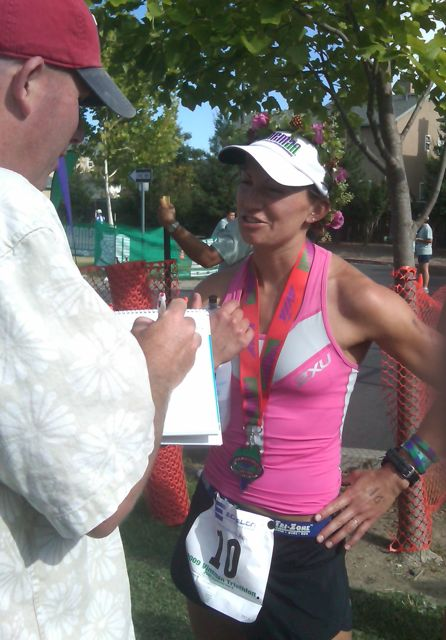Title defended in 2009!  Post-race interview