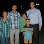We spent time in Nashville before the race in Chattanooga - Lucas' mom, brother, nephew