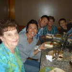 """Birthday Dinner"" with Lucas' Nanny, mom Teresa, nephew Braydon, brother Clint and Sister in Law Amanda (not pictured)"