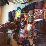 Almost all the things I stuffed in my 30# pack!