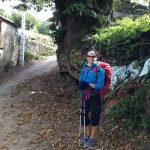 Day 19, Oct 17:  La Faba to Calvor, 23mi