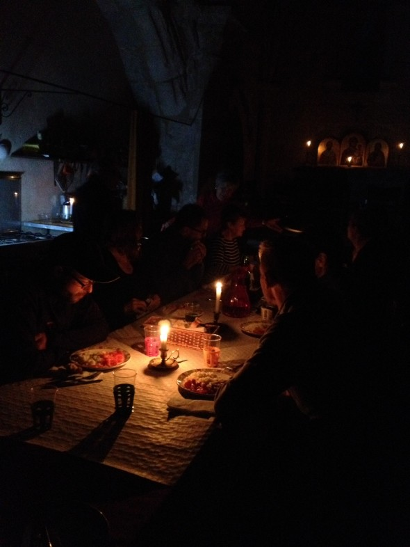 Candlelight dinner at San Nicolas; I will never forget this!