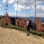 Day 3, Oct 1:  Arre through Pamplona to Obanos, 15.8mi