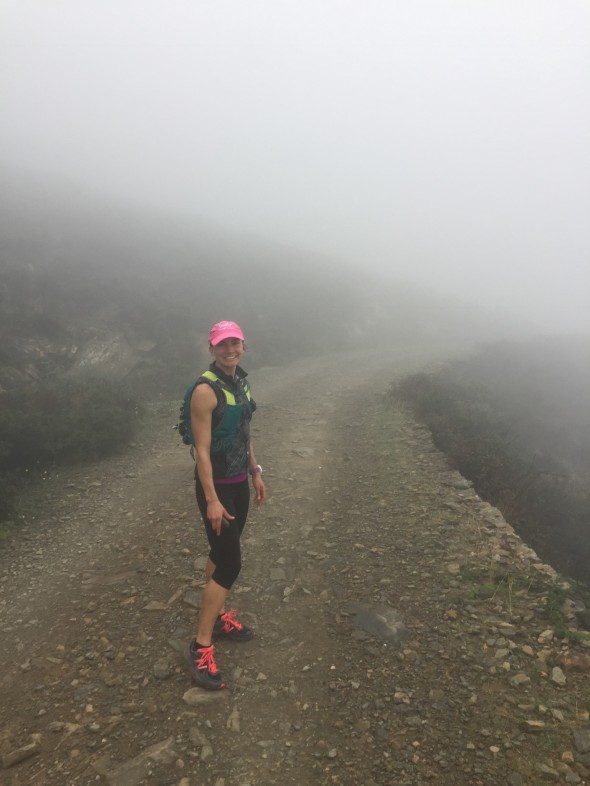 Today's second run, to Cadaques, was very foggy!