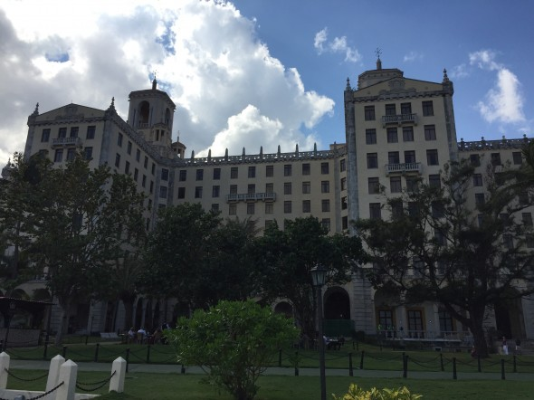 Hotel Nacional de Cuba opened in 1930 and was a prime luxury travel destination for Americans.  It was operated by American managers for over 20 years.