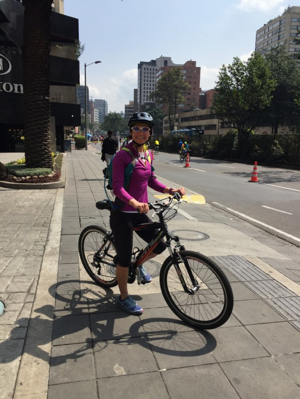 A rented bike for 3 hours to experience and explore many of Bogota's main roads and highways which are closed to traffic during Ciclovia.