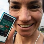 """Many days when I'm walking to meet an English student, or when I go running or biking, I listen to several episodes of this podcast """"Real Fast Spanish"""""""